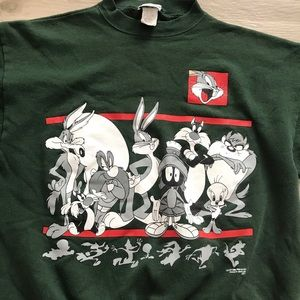 Warner Bros. Tops - Warner Bros Jerry Leigh Looney Tunes sweatshirt